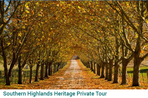 Southern Highlands Heritage Private Tour
